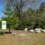 Auerhahn Nest Sitzgruppe mit grossen Steinen 2
